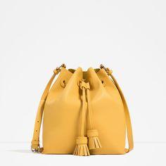Immagine 1 di BORSA SACCA NAPPE di Zara - yellow