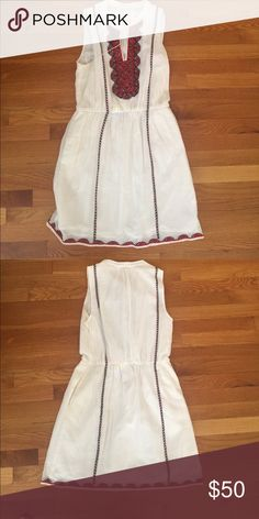 Madewell dress Madewell dress in good used condition. Smoke free home. Tag fell off size 8 Madewell Dresses