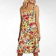 R Originals® Floral Print Bra Top Sundress