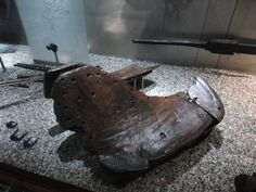The oldest known Viking horse saddle.