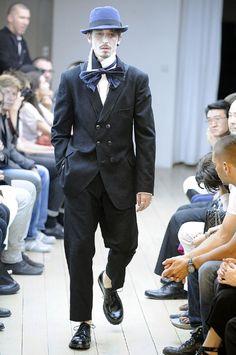 Yohji. Rough-cut Shirt & Tie.