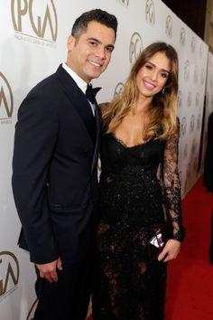 Jessica Alba and husband, Cash Warren #JessicaAlba #CashWarren