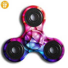 Kingko® Besonders geeignet für die Dekompression eines Spielzeugs Kreativer Dekompression Finger Gyro Drei Blatt Tarnung (D) - Fidget spinner (*Partner-Link)