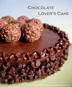 Happy Home Baking: A Chocolate Lover's Cake