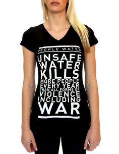 'War' T. Also available in Men's sizes.