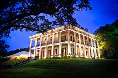 Dunleith Plantation  	Dunleith is a antebellum mansion in Natchez, Mississippi. The previous building, Routhland had been built by Job Routh and passed down to his  daughter Mary Routh. When it was struck by lightning and burned down  in 1855, her husband, General Charles G. Dahlgren rebuilt the home. It was sold for $30,000 in 1858 to Alfred Vidal Davis who renamed it  Dunleith. It was declared a National Historic Landmark in 1974.