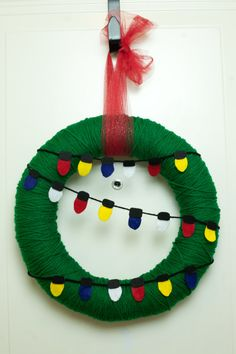 Charlie Brown Wreath by BluArtCo on Etsy, $60.00 ***DONE
