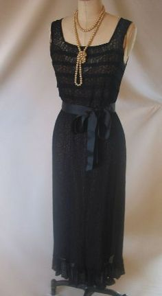 Vintage Little Black Dress. More affordable than its modern counterpart!