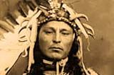 The death rate for Oregon Indians in 1850 has been estimated to range from 50 to 90 percent in heavily populated areas. Disease brought by white men was the culprit.