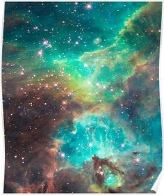 'Hubble telescope (Tarantula Nebula)' Poster by - Whirlpool Galaxy-Andromeda Galaxy-Black Holes Carina Nebula, Orion Nebula, Andromeda Galaxy, Helix Nebula, Crab Nebula, Hubble Space Telescope, Space And Astronomy, Telescope Craft, Hubble Pictures