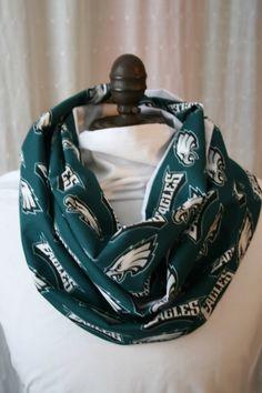 NFL Philadelphia Eagles Linen Infinity Scarf