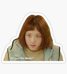 Pop Stickers, Meme Stickers, Printable Stickers, Do You Like Messi, Kdrama, Kim Book, Korean Stickers, Weightlifting Fairy Kim Bok Joo, Journal Stickers