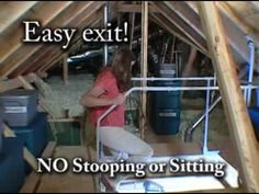 The Versa-Rail is a must for every home attic ladder! Feel safe and secure when you climb that attic ladder. Versa-Rail provides dual grab bars that make it safe and easy to climb into or out of the attic... No more need to crawl on your hands and knees for fear of loosing your balance.  The Versa-Rail surrounds the opening protecting against th...