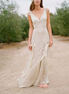 Get Wild And Grand With Country Style Wedding Dresses : Claire Pettibone Country Chic Gown Rustic Wedding Gowns, Vintage Inspired Wedding Dresses, Wedding Dress Sizes, Used Wedding Dresses, Chic Wedding, Trendy Wedding, Bridal Dresses, Lace Wedding, Dress Wedding
