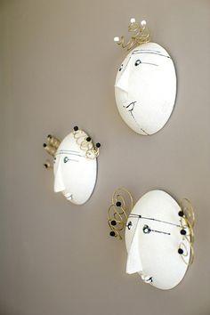 Faces.... Wall Lights, Faces, Design, Home Decor, Appliques, Decoration Home, Room Decor
