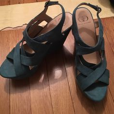 1000 ideas about turquoise wedges on wedges
