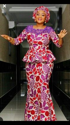Check It Out Beautiful Ankara Skirt and Blouse Styles .Check It Out Beautiful Ankara Skirt and Blouse Styles Ankara Skirt And Blouse, African Maxi Dresses, Latest African Fashion Dresses, African Dresses For Women, African Print Fashion, Africa Fashion, African Attire, Ankara Fashion, African Prints