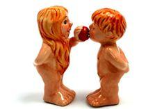 Adam and Eve - Salt & Pepper Shakers-neatorama.com