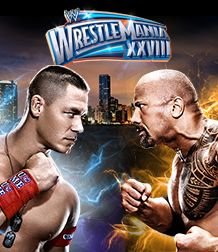 WRESTLEMANIA IS ON SUNDAY! =) JOHN CENA VS. THE ROCK      In the most anticipated WrestleMania clash in history, John Cena will collide with The Rock at WrestleMania XXVIII, emanating from The Great One's hometown of Miami.