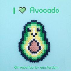 37 vind-ik-leuks, 3 reacties - Maggie Amsterdam (@freubelfabriek.amsterdam) op Instagram: '#avocado #avocados #avocadotoast #avocadooil #perlerbeads #perlers#hama #hamabeads #nabbibeads…'