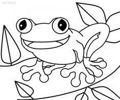145 malvorlagen ausmalbilder vorlagen frosch frösche unke