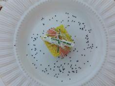 Safran cous cous & salmon