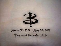 Buffy the Vampire Slayer Memorial Sunnydale BTVS by doreenball