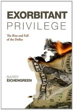 Exorbitant Privilege: The Rise and Fall of the Dollar by Barry Eichengreen, http://www.amazon.co.uk/dp/B005RBU42Q/ref=cm_sw_r_pi_dp_DmFgub1YCGGAS