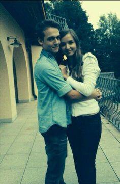 Smusa and his girlfriend Míša.