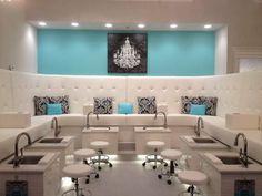 small nail salon interior designs - Google Search | misc ...