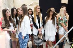 Finalistky MISS Slovensko 2015. Cover Up, Coat, Jackets, Dresses, Fashion, Down Jackets, Sewing Coat, Gowns, Moda