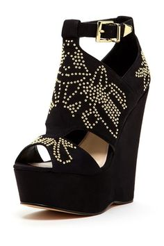 Laney Studded Wedge Sandal