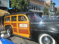 Wood Car.