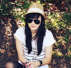 Summer fashion straw womens fedora hat white band