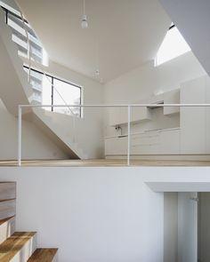 белый интерьер в стилелофт