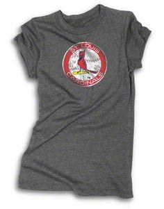 St. Louis Cardinals Women's Tunic Length T-Shirt #cardinals #mlb #stlouis