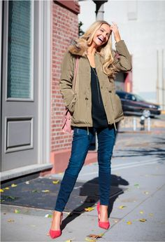 casual cool outfit with jacket