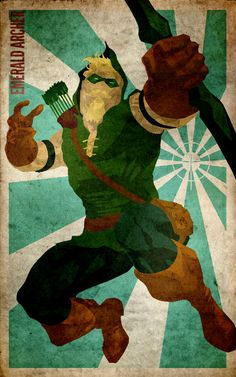 Green Arrow Minimalist Poster by knight-of-solitude