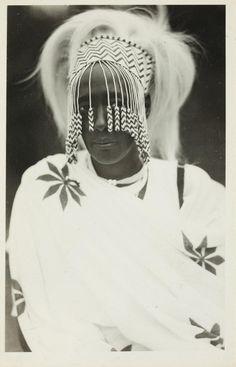 Nubian | H.M. Queen Kankazi, Mother of Mutara III Rudahigwa (the King).  ca. 1930 | ©C. Zagoursky