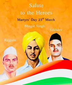 Education Discover Remembering Shaheed Bhagat Singh Shivaram Rajguru and Sukhdev Thapar on Their martyrdom is an inspiration for generations to come. 23 March Bhagat Singh, Bhagat Singh Wallpapers, Bhagat Singh Quotes, Birthday Background Images, Background Banner, Martyrs' Day, Happy Independence Day India, Indian Army Wallpapers, Career Advisor
