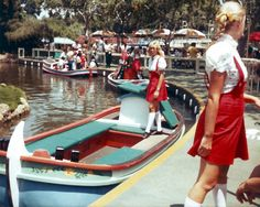 1982 Disneyland. (Why do I love this so much?)