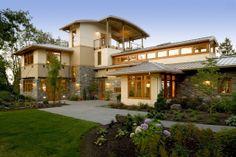 Современный дом в Портленде, США
