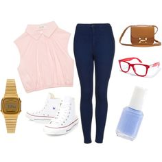 Always wear Converse by amina20 on Polyvore