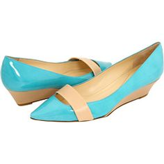 """""""Great color, but also love that these are more special than your average flat."""" -@Serena Unrein AND they have just a bit of a wedge heel :)"""