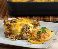 Easy Breakfast Casserole With Sausage, Eggs, and Biscuits (add or delete ingredients based on likes)