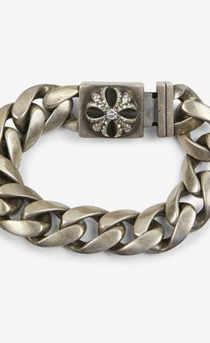 5ecad0ccc Chrome Hearts Silver And Crystals Bracelet | VAUNTE Chrome Hearts, Men's  Wardrobe, Crystal Bracelets