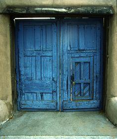 blue door sante fe @Roberto Rodriguez