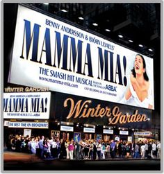 MAMMA MIA! ON BROADWAY.....I would see it again!!!!! Such a GOOD show!!!!!