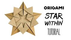 "Origami Star Tutorial ""Star Within"" (Ali Bahmani) Paper Kawaii: Learn how to make an origami star designed by Ali Bahmani This beautiful origami star decoration is made from one sheet of pentagonal paper it's lovely to hang up as a seasonal decoration or display in a window with the light shining through! more info Get my new Ebook - LEARNIGAMI: http://ift.tt/2rszjFZ Get a FREE printable origami paper pack: http://ift.tt/2cIEaQY A lovely origami star brought to you by Ali Bahmani (http"