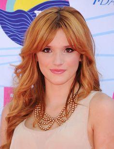 Bella Thorne's hair! Love her bangs